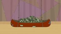 Canoe pełne pieniędzy