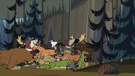 S05E07 Zwierzęta uciekają przed Malem