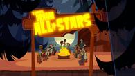 Total Drama All-Stars opening ognisko