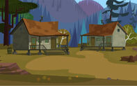 Domki obozu Wawanakwa