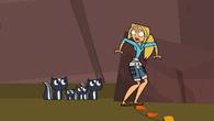 Bridgette spotyka rodzinkę skunksów