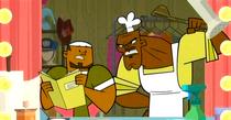 Chef i DJ w pokoju zwierzeń