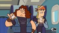 Rockowcy w samolocie