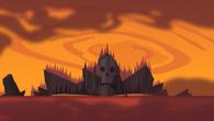 S05E05 Wyspa Kości podczas zachodu słońca