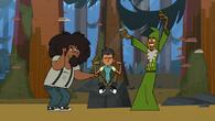 (Beardo razem z Leonardem i Davem w czołówce)
