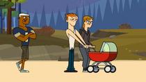 Kłótnia Jo i Scott o wózek