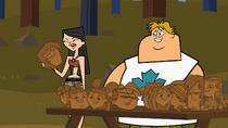 S01E21 Heather trzymająca głowę Justina