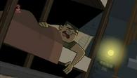 Brick śpi przy zapalonym świetle