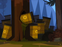 Radioaktywny las
