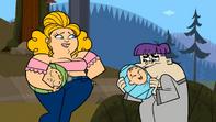 S05.2E08 Sugar i Max trzymają niemowlęta