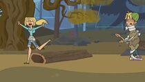 S01E07 Bridgette spotyka Cody'ego w lesie