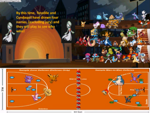 S2 finale dodgeball