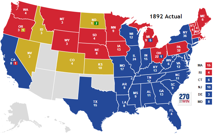 1892 United States presidential election