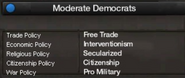 Moderate Democrats