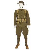 US Army uniform World War I