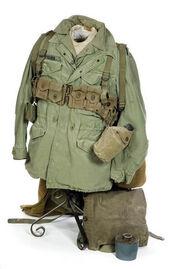 US Army Korean War uniform
