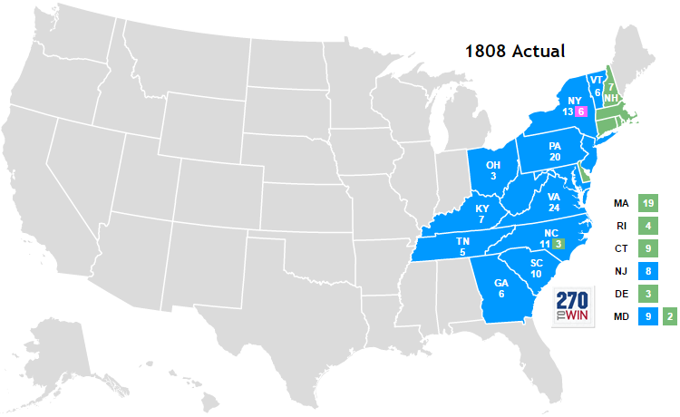 United States presidential election, 1808   Historica Wiki ...