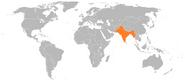 British Raj location
