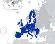 Azores location
