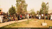 ISIS stoning crowd