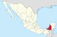 Campeche location