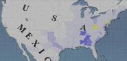 US party loyalties 1845