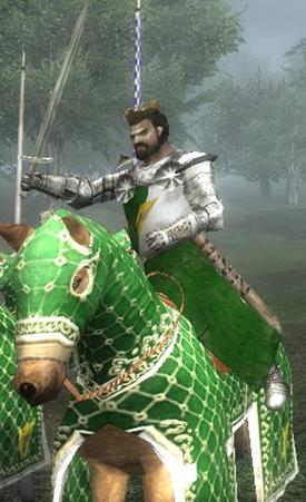 Brian horseback