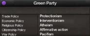 Czech Green Party views