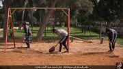ISIS playground Raqqa