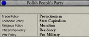 Old Polish People's Party views