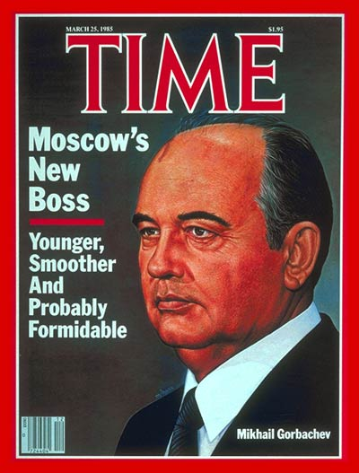 Image result for mikhail gorbachev becomes president