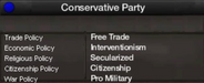 Modern conservative party