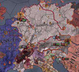 Holy Roman Revolt of 1313