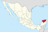 Yucatan location