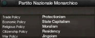 Monarchist National Party views