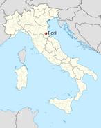 Forli location