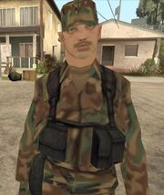US soldier 1992