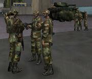 US troops 1986