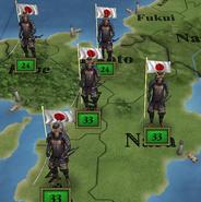 Japanese troops 1840