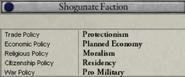 Shogunate Faction