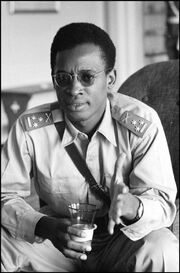 Mobutu officer