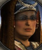 Empress Yasmin of the Abbasid Empire