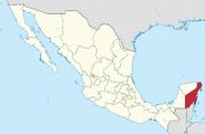 Quintana Roo location
