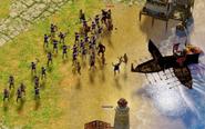 Atlanteans vs. Kamos pirates