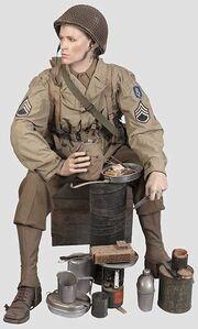 US Army WW2 uniform