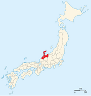 Maeda clan territory