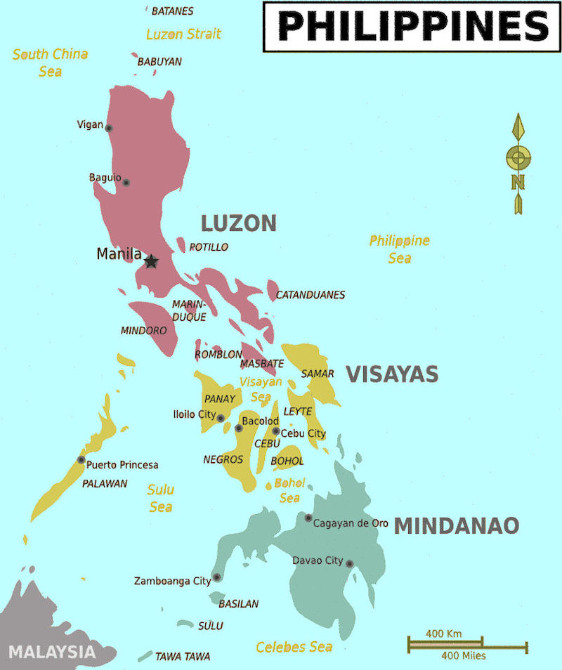 Image   Map of the Philippines. | Total War: Alternate Reality