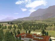 Roman villa countryside