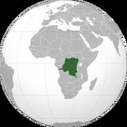 DR Congo location