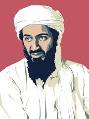 Bin Laden clip art